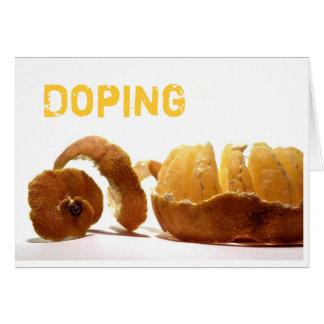 Doping Card