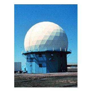 Doppler Weather Radar Station - Norman Postcard