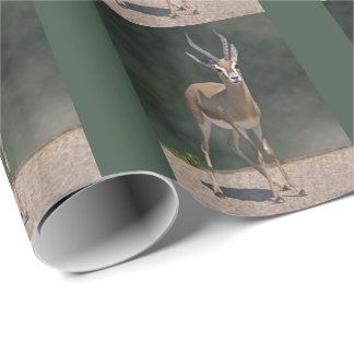 Dorcas Gazelle Wrapping Paper