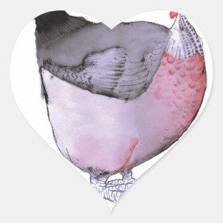 DORKING hen, tony fernandes Heart Stickers