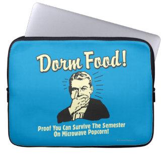 Dorm Food: Survive Microwave Popcorn Computer Sleeve