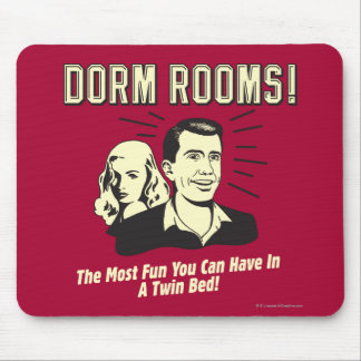 Dorm Room: Most Fun Twin Bed Mouse Pad