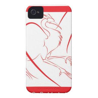 Dormant Phoenix Blackberry Cover iPhone 4 Case
