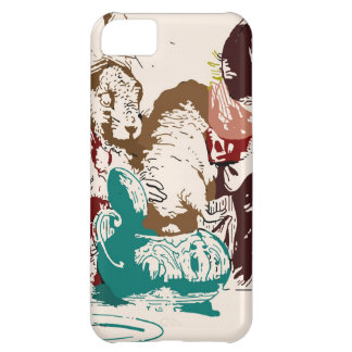 Dormouse in the Teapot Mad Tea Party Case For iPhone 5C