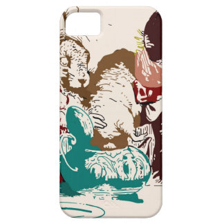 Dormouse in the Teapot Mad Tea Party iPhone 5 Covers