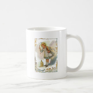 Dorothy Does Housework Vintage Oz Basic White Mug