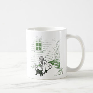 Dorothy lands on the Wicked Witch of The West Coffee Mug