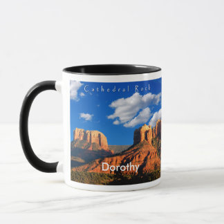 Dorothy on Cathedral Rock and Courthouse Mug