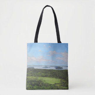 Dorr Mountain View of Great Meadow Tote Bag