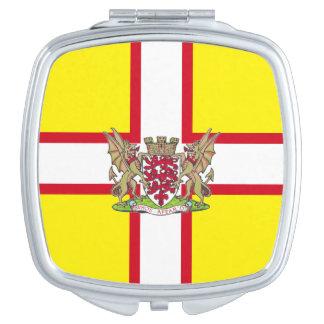 Dorset flag compact mirror