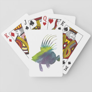 Dory fish - Colorful fish art Playing Cards