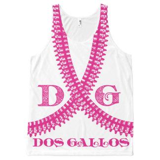 Dos Gallos Bullet Belt Tank - Hot Pink