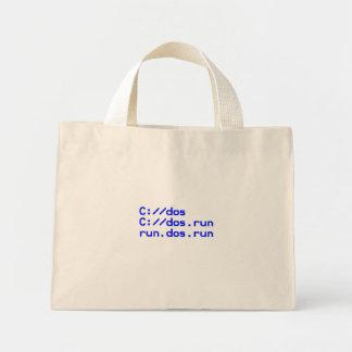 DOS geek joke Bag