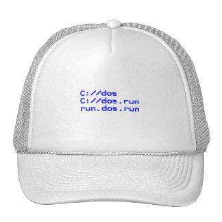 DOS geek joke Cap