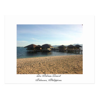 Dos Palmas Resort, Palawan, Philippines - Postcard