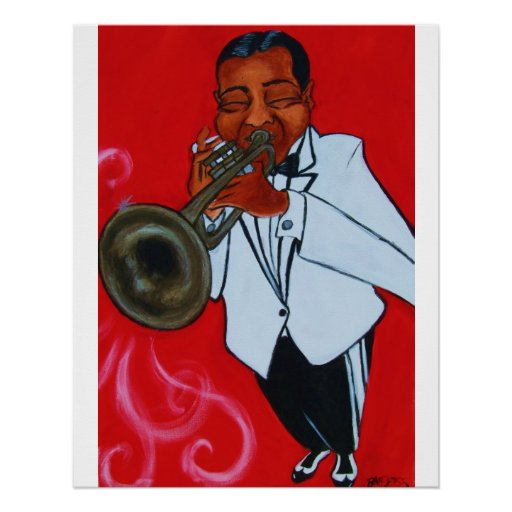 DOSSOME TRUMPET PLAYER POSTER