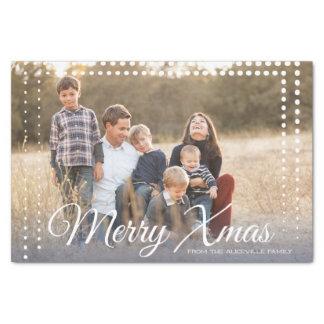 Dot Frame - Christmas - Tissue Paper
