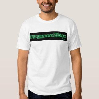 dot gamer clan logo with com shirt