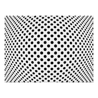 Dot Optical Illusion Poster