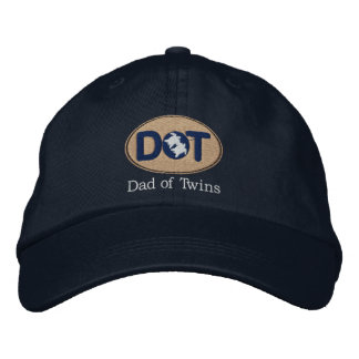 DOT (Oval-Drk) Embroidered Hat