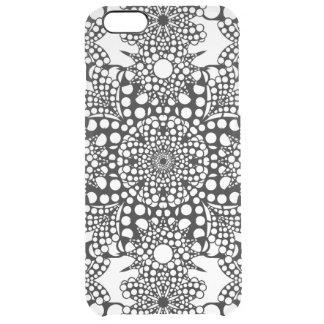 Dot PAttern Mandala Clear iPhone 6 Plus Case
