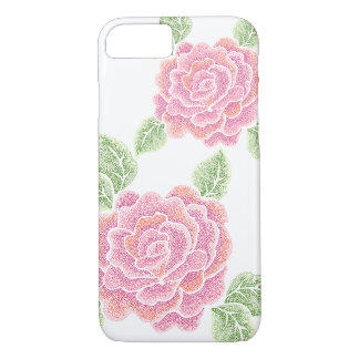dot roses iPhone 7 case