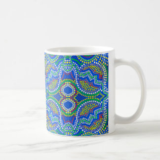 Dot SmArt Fabirc Designs by Gina Rose Coffee Mug