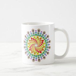 Dot Swirl Coffee Mug