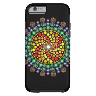 Dot Swirl Tough iPhone 6 Case