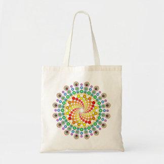 Dot Swirls Tote Bag