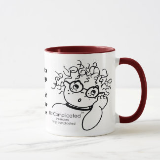 DotComplicated(TM) -she makes things complicated! Mug