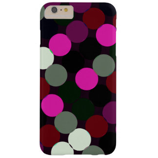 Dots and spots barely there iPhone 6 plus case
