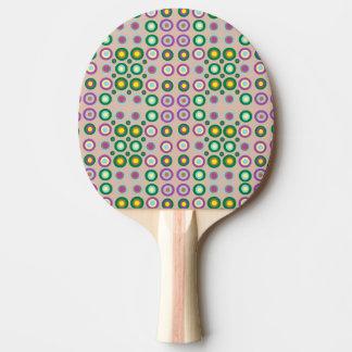 dots and spots ping pong paddle