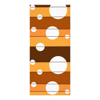 Dots and Stripes in AutumnShades Rack Card