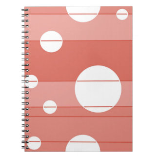 Dots and Stripes in BarnRed Notebook