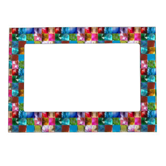 Dots Circles  Shades Pattern Sparkle Spectrum Magnetic Frame