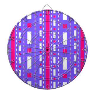 Dots Dash in Magenta Lilac White Dartboards
