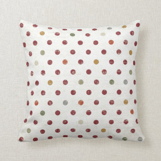 Dots, dots and more dots Throw Pillow