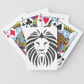 Dots Lion Bicycle Playing Cards