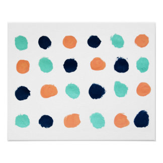 Dots Painting Print