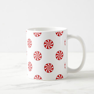 DOTS - PEPPERMINT CANDY (a polka dot design) ~ Coffee Mugs