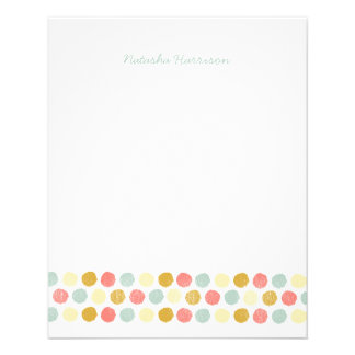 Dots Stationery for Girls Flyer