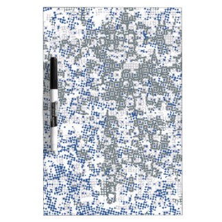 Dotted Background Dry Erase Board