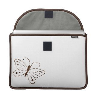Dotted Butterfly Macbook Pro Sleeve