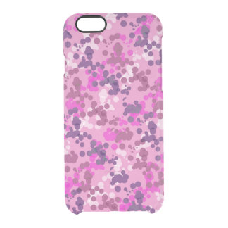 Dotted Camo Clear iPhone 6/6S Case