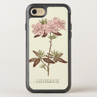 Dotted Leaved Rhododendron Illustration OtterBox Symmetry iPhone 7 Case