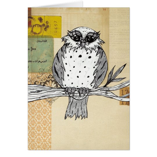 Dotti the Owl 26 Card