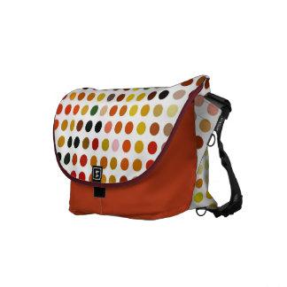Dotty Autumn Shades Weekend Bag Commuter Bags