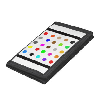Dotty Modern Art Tri-fold Wallets
