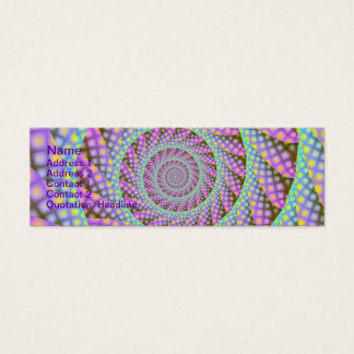 Dotty Spiral Card